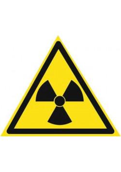 """Знак """"Радиоактивные вещества"""" W-05"""