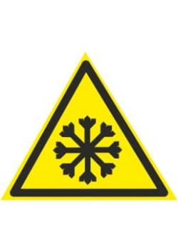 "Знак ""Внимание холод"" W-17"