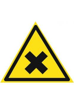 """Знак """"Вредные вещества"""" W-18"""
