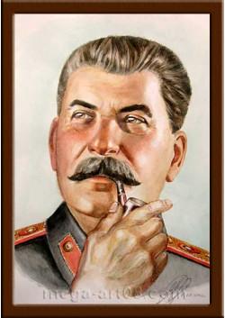 Портрет Сталин И.В. ПТ-14-9