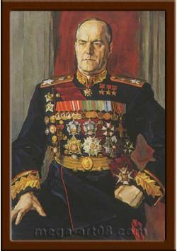 Портрет полководец Жуков Г.К. ПТ-50-4