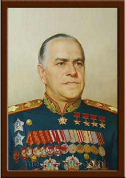 Портрет полководец Жуков Г.К. ПТ-50-5