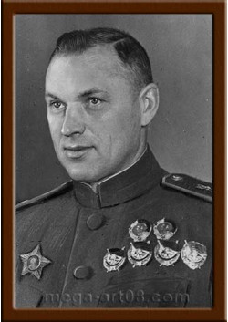 Портрет Рокоссовский К.К. ПТ-51-3