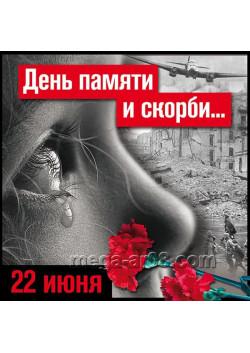 Наклейка на 22 июня НК-9