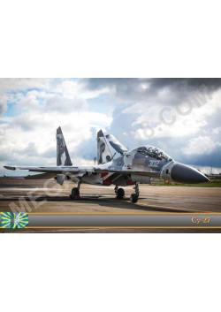 Постер СУ-27 ПЛ-136