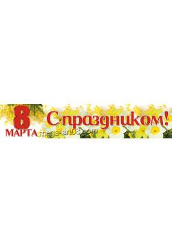 Баннер к 8 марта БГ-20