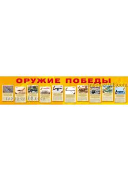 """Баннер """"Оружие Победы"""" БГ-91"""