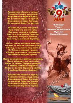 Постер к 9 мая ПЛ-81