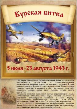 Постер «Курская битва» ПС-7