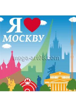 Наклейка на День города Москвы НК-3