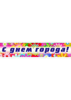 Баннер на день города Москвы БГ-9