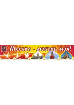 Баннер на день города Москвы БГ-31