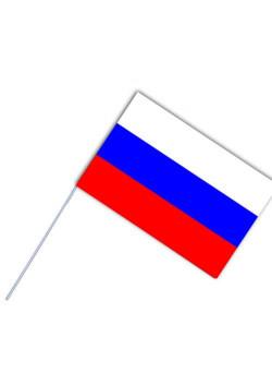 Флажок России на палочке