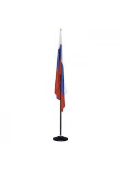 Напольный флагшток на 1 флаг, металл с напылением