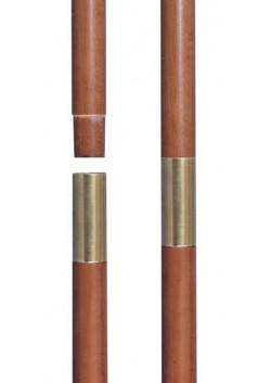 Древко деревянное разборное с втулкой