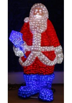 """Объемная световая фигура """"Санта Клаус"""" 160 см"""