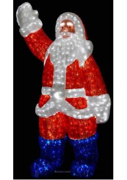 """Объемная световая фигура """"Санта Клаус"""" 210 см"""