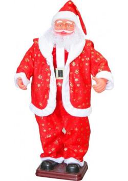 Поющий Санта Клаус большой 120, 150, 180 см