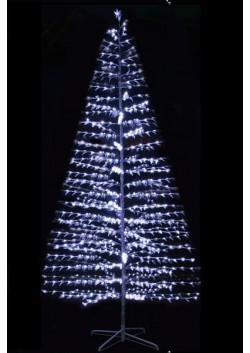 Ёлка светодиодная LED белая