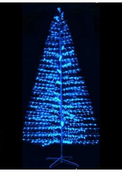 Ёлка светодиодная LED синяя