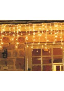 """LED гирлянда """"Айсикл"""" для улицы, резиновый провод"""