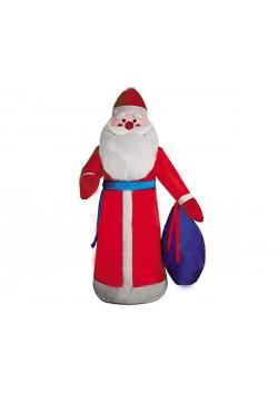 """Надувная новогодняя фигура """"Дед Мороз в красном халате"""""""