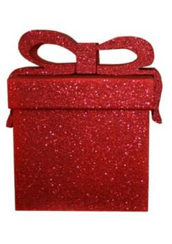 Украшение-коробочка подарочная из пенопласта 23 см