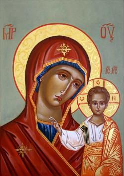 Постер Святая икона Богородица ПТ-309