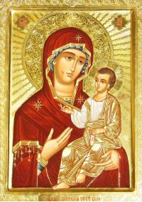 Постер Святая икона Богородица ПТ-310