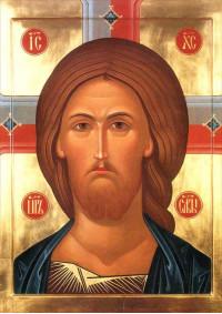 Постер Святая икона Иисус ПТ-315
