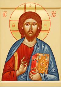 Постер Святая икона Иисус ПТ-317