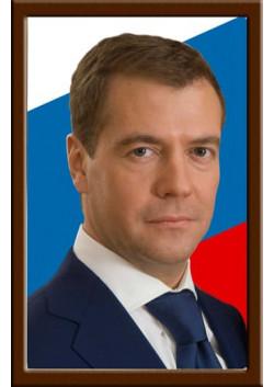 Портрет Медведева Д.А.
