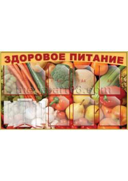 Стенд Здоровое питание ТБ-38