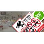 Знаки для магазинов и торговых центров