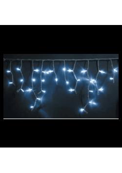 Светодиодная бахрома LED 3*0,5м белый каучук провод СБ-7