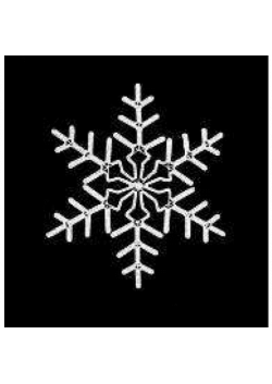 "Светодиодная фигура ""Снежинка"" LED СФ-1"