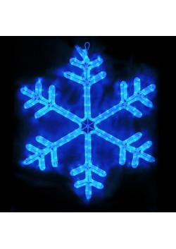 """LED-фигура """"Снежинка синяя"""" с контроллером НО-134"""