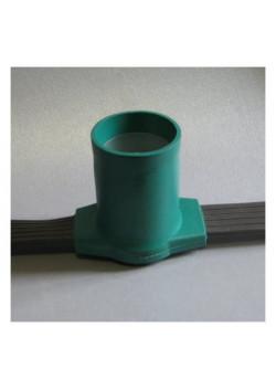 Белт-Лайт, резиновый шлейф серо-зеленого цвета, шаг 15 см ЛП-3