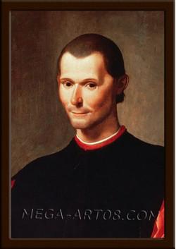 Портрет Макиавелли Н.