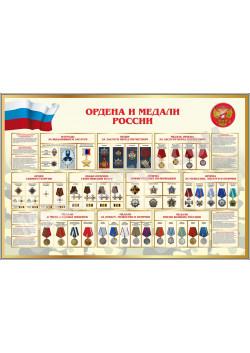 "Стенд ""Ордена и медали России"" СТ-111"