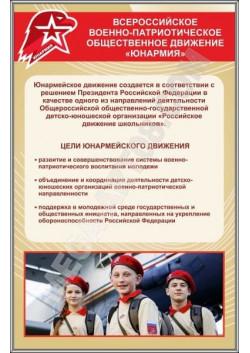 "Стенд ""Юнармия"" СТ-117"