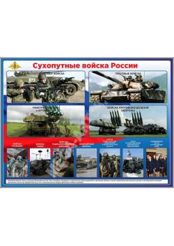 """Стенд """"Сухопутные войска России"""" СТ-109"""