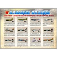 Стенд «Авиация Победы»