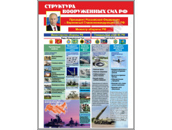 Стенд  «Структура Вооруженных сил РФ»