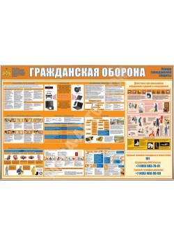 """Стенд """"Гражданская оборона"""" СТ-507"""