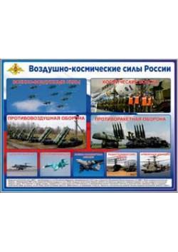 """Стенд """"Воздушно-космические силы России"""" СТ-127"""