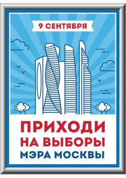 Лайтбокс на выбора мэра Москвы ЛБ-1