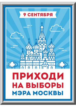 Лайтбокс на выбора мэра Москвы ЛБ-4