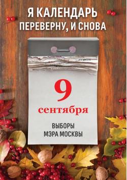 Плакат на выборы мэра Москвы ПЛ-6