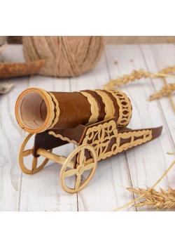 Сувенир «Пушка», 22х5х9 см